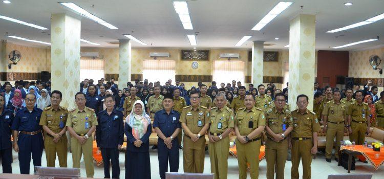 Pelepasan Mahasiswa Praktik Kerja Nyata Tahun 2019 di Kabupaten Pesawaran Lampung